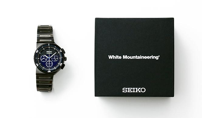 SEIKO|ジウジアーロの傑作「ホワイトマウンテニアリング」別注で700本販売