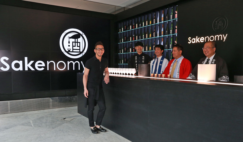 SAKENOMY|中田英寿、ミラノ国際博覧会で日本酒の魅力をアピール