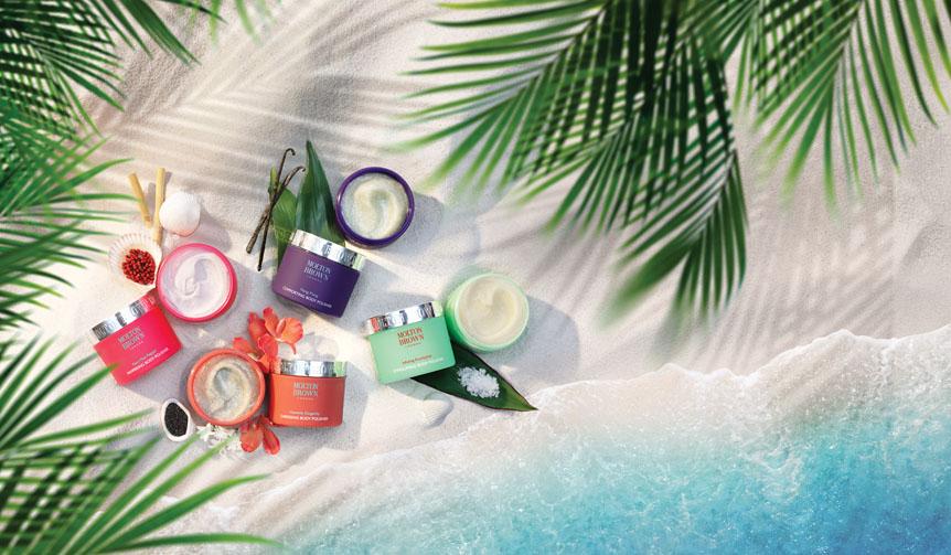 MOLTON BROWN|夏肌を磨く「ボディポリッシャー コレクション」発売