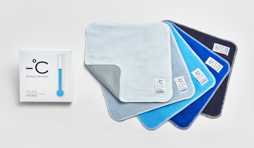 接触冷感素材「ゼロクール」を使用したハンドタオル  |PERROCALIENTE