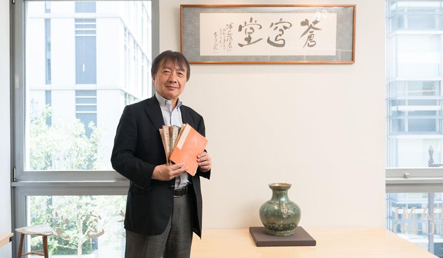 MITSUKOSHI|「北斎漫画」世界一のコレクター浦上満が語る、天才・北斎と江戸時代