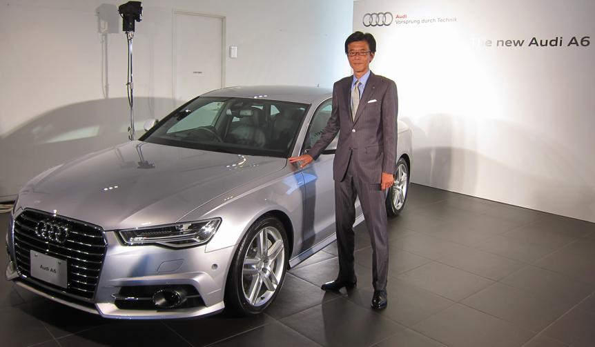 新型アウディ A6を日本導入|Audi