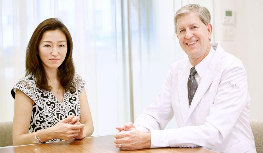 b.glen|永富千晴×ブライアン・ケラー博士 特別対談