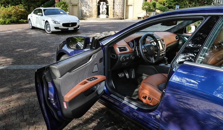 ゼニアが仕立てたマセラティのためのシルクシート Maserati
