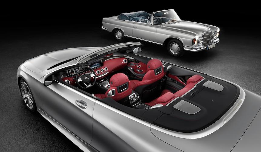 メルセデス・ベンツSクラスにオープンモデルを予告|Mercedes-Benz