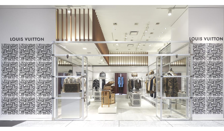 LOUIS VUITTON 伊勢丹新宿店メンズ館でポップアップストアをオープン