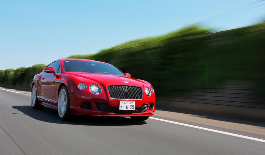 試乗、コンチネンタル GT スピード|Bentley