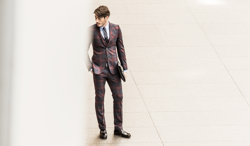 HANKYU MEN'S|2015AW THE STYLE DRESS FOR BUSINESS