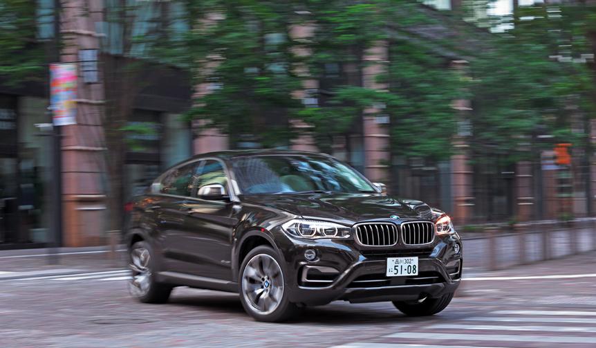 第2世代となったBMW X6を試乗する|BMW