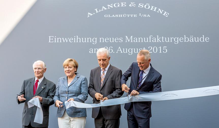 A.LANGE & SÖHNE|A.ランゲ&ゾーネの新工房が完成し記念式典を開催