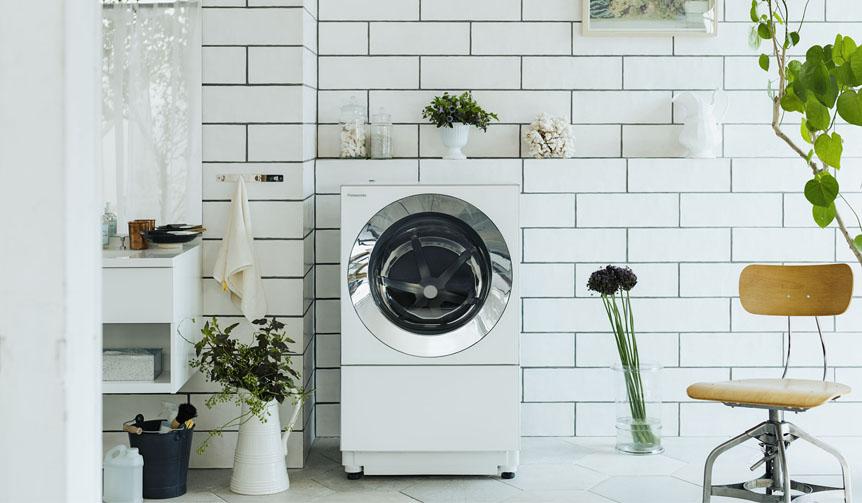 Panasonic|キューブ型のうつくしいななめドラム洗濯機「Cuble」を発表