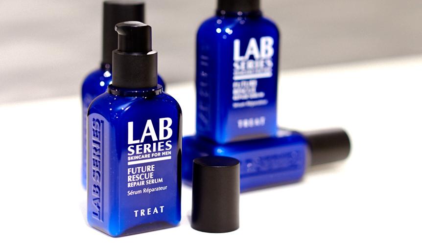 LAB SERIES|男の肌の未来と向き合う美容液が登場