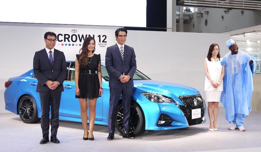 トヨタ「クラウン」をマイナーチェンジ|toyota