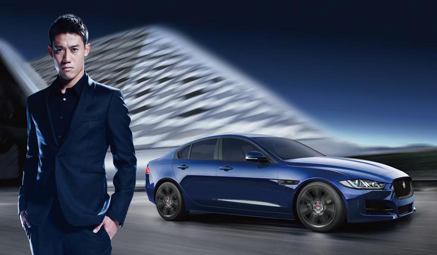 錦織圭選手がカラーや装備を厳選した60台限定のジャガー「XE」|Jaguar