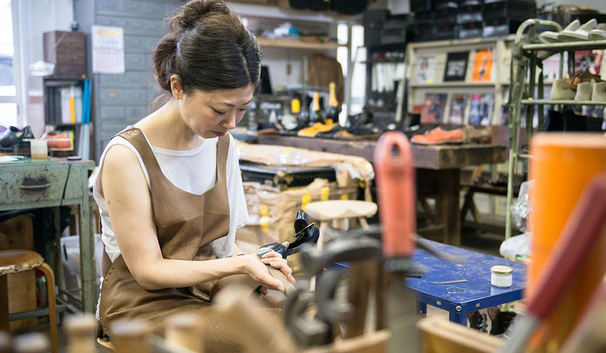 ISETAN MEN'S|デザイナー横尾直が語る「JAPAN靴博2015」の靴