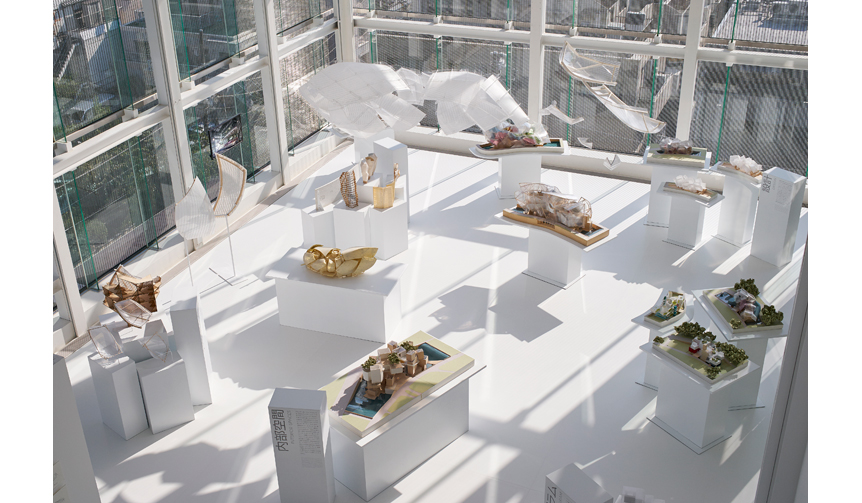 ESPACE LOUIS VUITTON TOKYO|『フランク・ゲーリー/Frank Gehry パリ-フォンダシオン ルイ・ヴィトン 建築展』