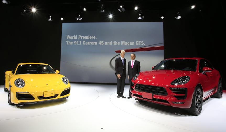東京モーターショー 2015 リポート|Porsche