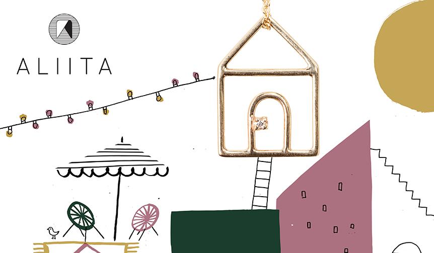 ALIITA|MARNIデザイナーの義娘、ジュエリーブランドを創立
