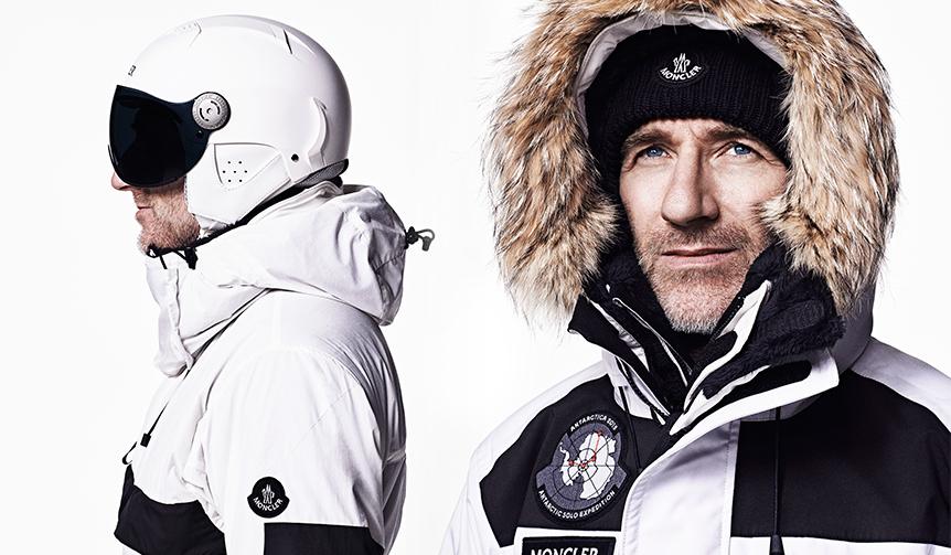 MONCLER|モンクレールの究極ウェアを着用し、南極単独探検に挑む