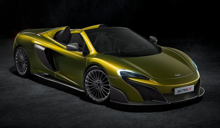 マクラーレン、スーパーシリーズの最新作、675LTスパイダーを発表|McLaren