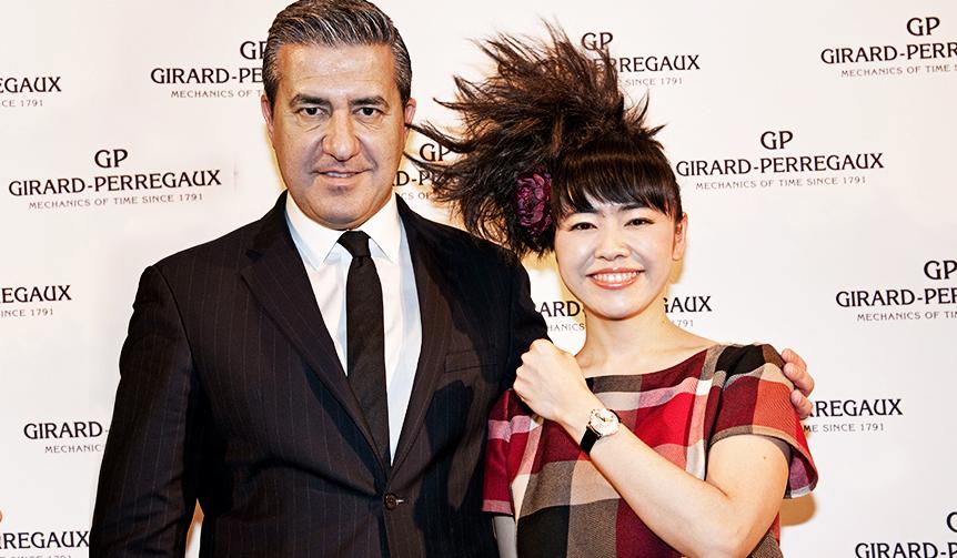 GIRARD-PERREGAUX|ピアニスト上原ひろみ氏がフランソワ・ペルゴ アワードを受賞
