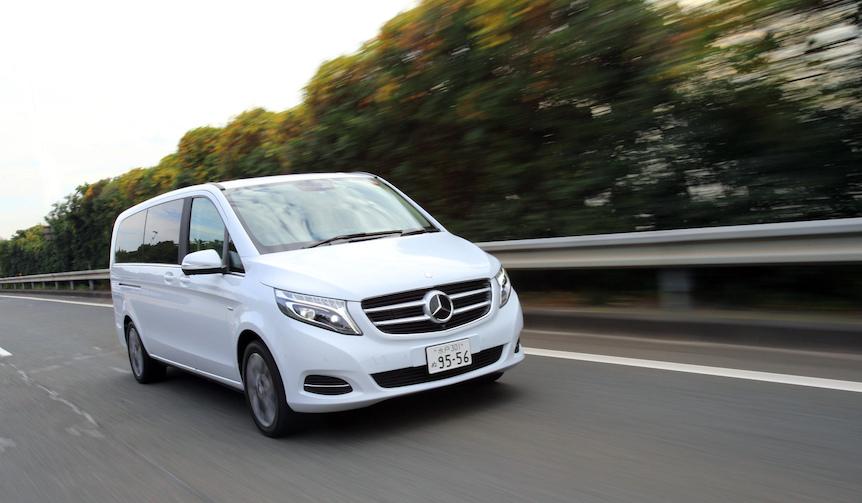 新型メルセデス・ベンツ Vクラスに試乗|Mercedes-Benz