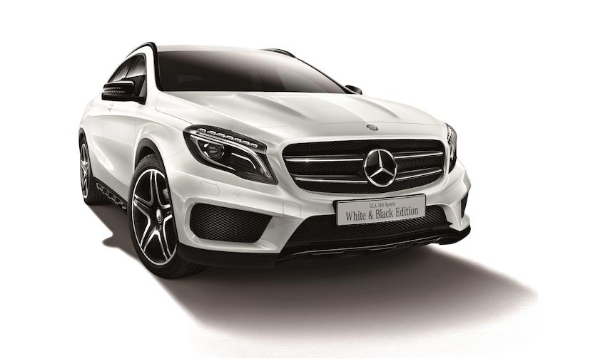 メルセデス・ベンツGLAにコントラストがアクセントの特別仕様車|Mercedes-Benz