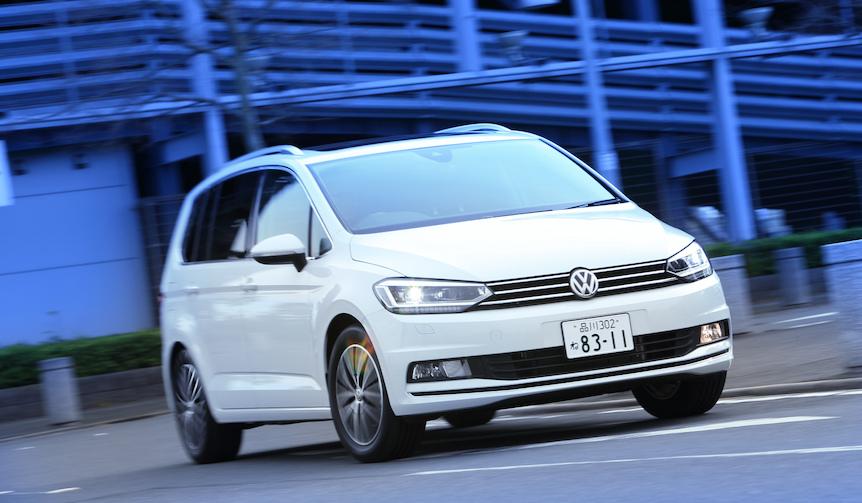 新型フォルクスワーゲン ゴルフ トゥーランに試乗|Volkswagen