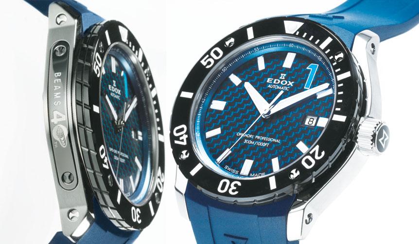 EDOX|ビームス創業40周年記念限定モデルが30本だけ発売