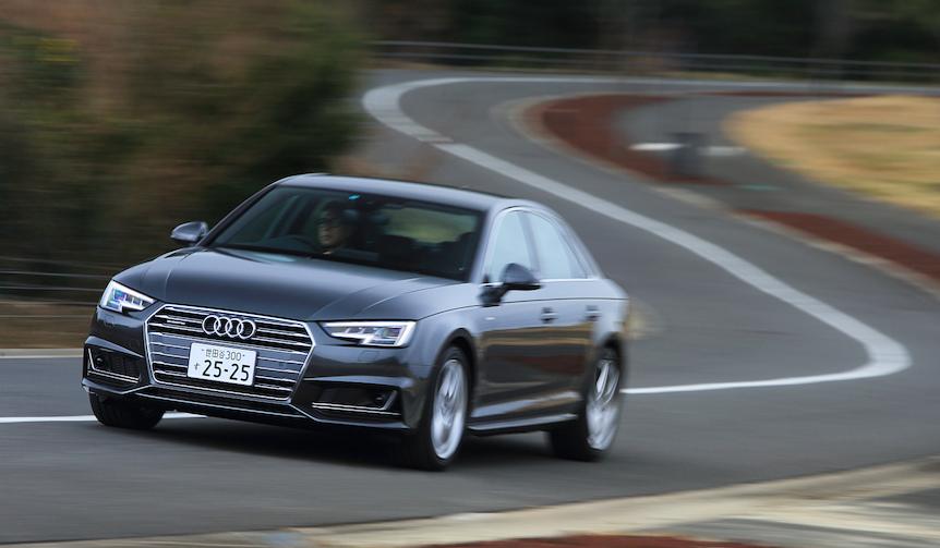 日本に上陸した新型A4に試乗|Audi