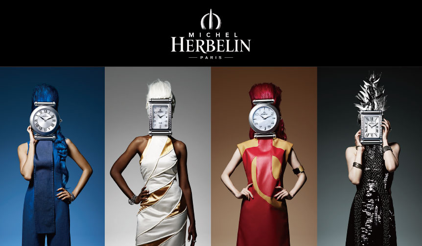 MICHEL HERBELIN|フランスのミッシェル・エルブランが銀座駅をジャック