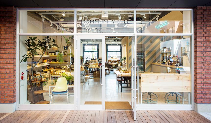 B's INTERNATIONAL|横浜でカリフォルニアライフを体感「COMMUNITY MILL」