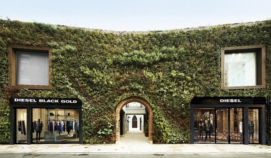 DIESEL BLACK GOLD|ディーゼルが2つの店舗を同時オープン
