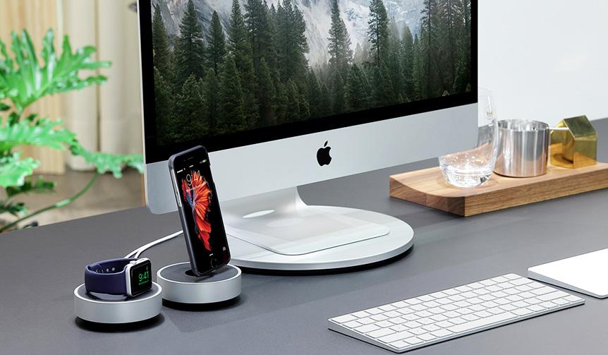 JUST MOBILE|iPhoneやApple Watchをデスク上で美しく充電
