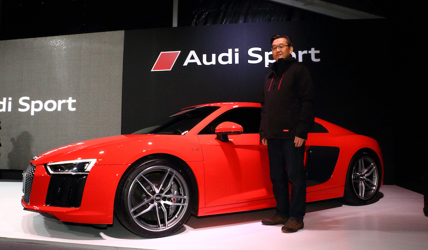 アウディのフラッグシップスポーツ「R8」がフルモデルチェンジ|Audi