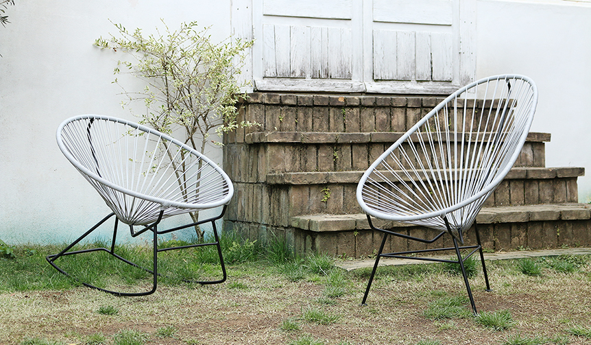 METROCS|飽きのこないカラーリングと秀逸な座り心地を屋内外で