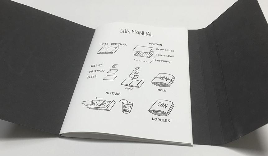 Noritake|折って挟むだけ。ユーザーに使い方を委ねるバインディングノート