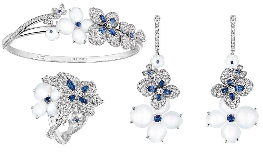 CHAUMET|アジサイが咲き誇る、ショーメ「オルタンシア」 コレクション