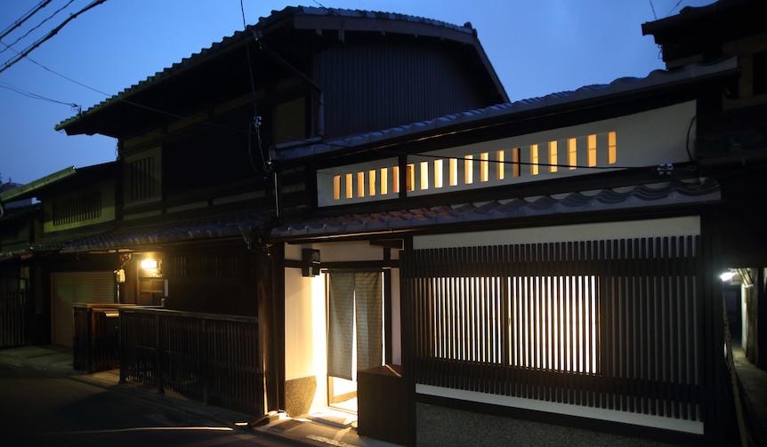 TRAVEL|伝統的な京町屋を利用した旅館がオープン