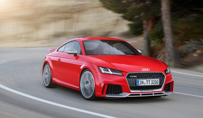 アウディ新型TT RSを発表|Audi
