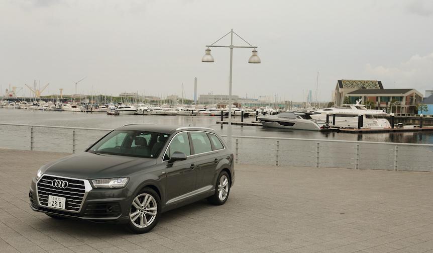 日本に上陸した新型アウディ Q7に試乗|Audi