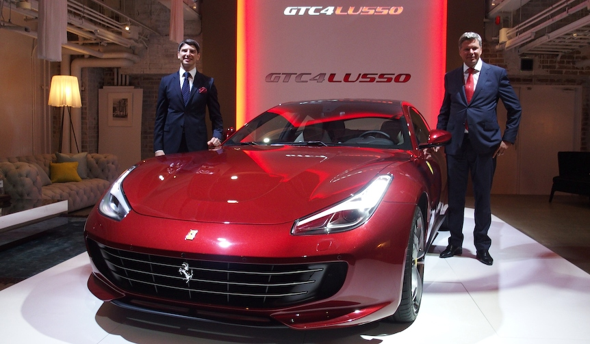 FFの後継モデル、フェラーリGTC4ルッソ日本デビュー|Ferrari