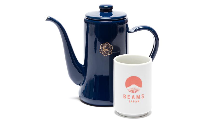 BEAMS JAPAN|大人気のスリムポットがキーカラーの美しい藍色に