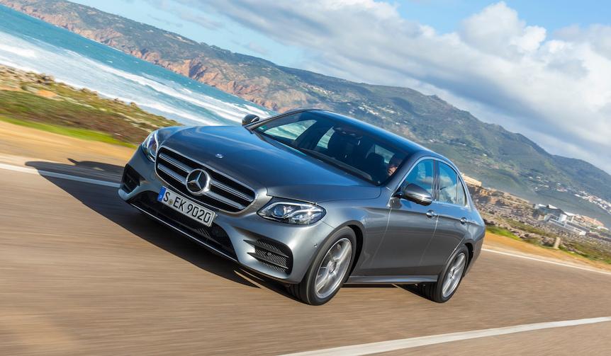 新型メルセデス・ベンツ Eクラスに試乗 Mercedes-Benz
