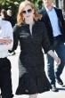 ジェシカ チャステイン CHANEL 女優のジェシカチャステインは2016-17年秋冬プレタポルテコレクション黒い光沢のあるツイードドレスをカンヌ映画祭で着用。   ©chanel