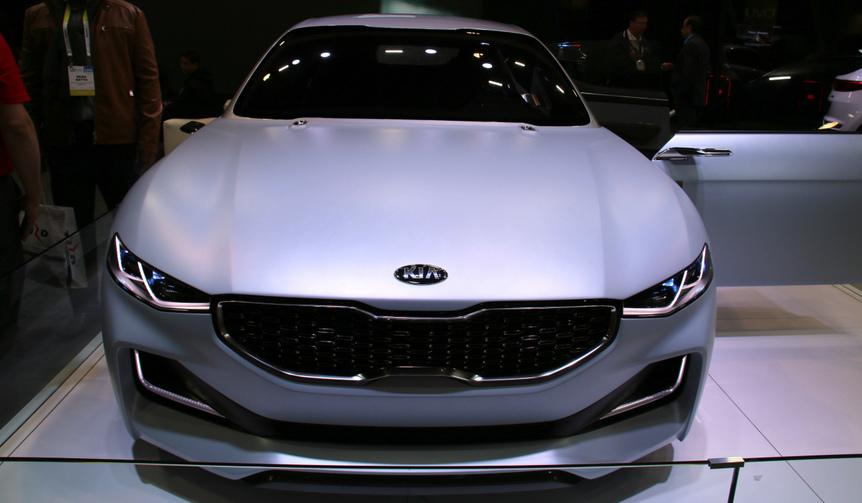 キア・ノーヴォ: 2015年ソウル・ショーで発表したコンセプトカー。