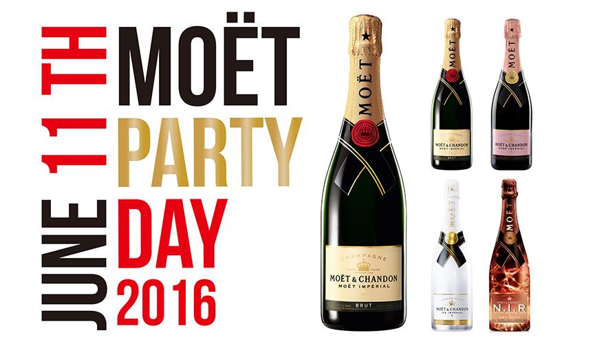 MOËT & CHANDON|モエ・エ・シャンドン 世界26ヶ国「MOËT PARTY DAY」同日開催!