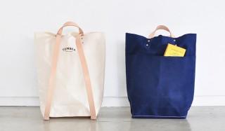 リュックと手持ちのトートで使える。人気のバッグが装い新たに2ウェイ仕様に TEMBEA