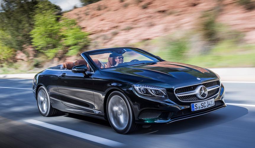 メルセデスのフラッグシップオープン「Sクラス カブリオレ」に試乗|Mercedes,Benz