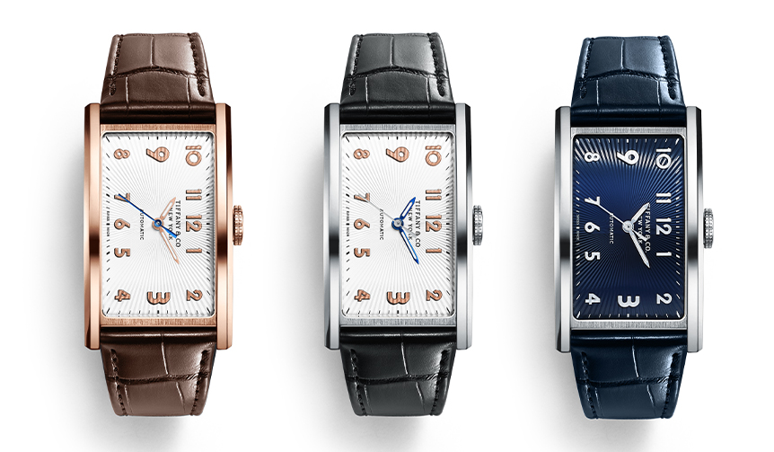 TIFFANY & CO.|時計作りの常識を変える大胆なデザイン「ティファニー イースト ウエスト」